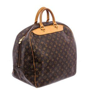 Louis Vuitton Monogram Canvas Leather Evasion Bag